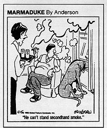 Marmaduke cartoon.